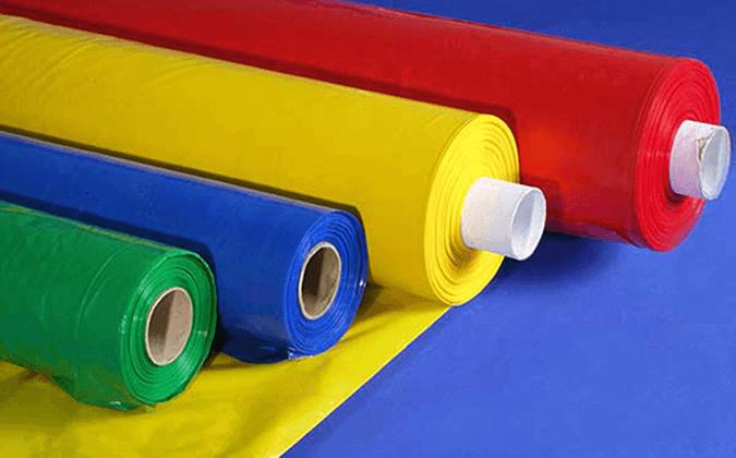 Цветные натяжные полотна