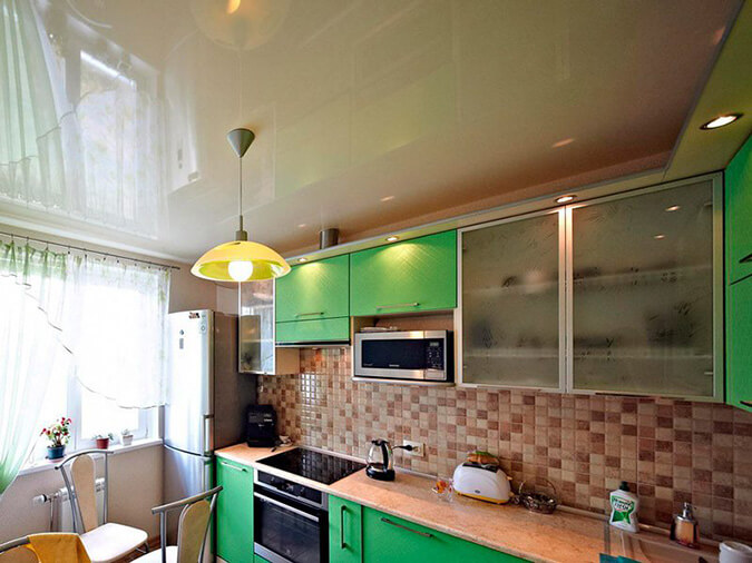 Недостаточное освещение на кухне