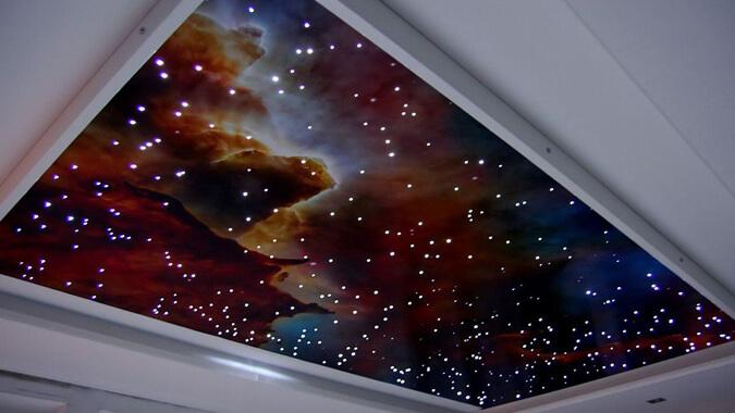 Один из вариантов звёздного неба