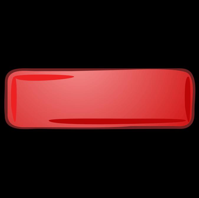 Красный минус