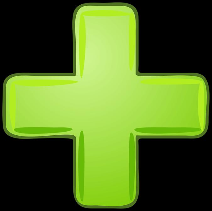 Зелёный плюс