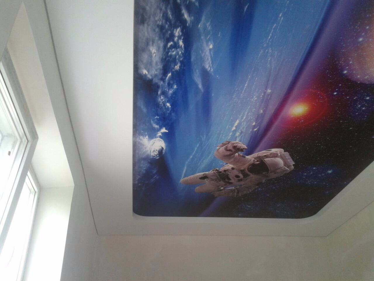 фотопечать космонавт