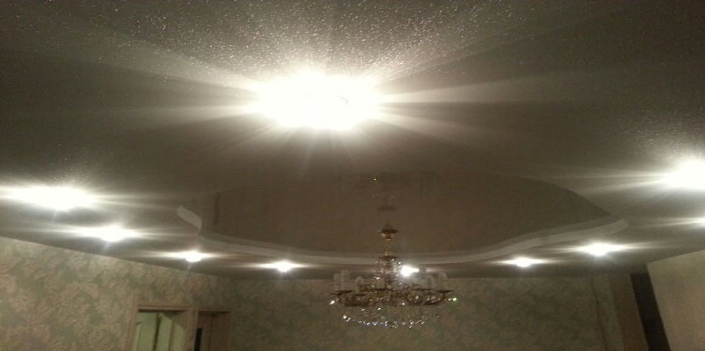 алюпигментный потолок