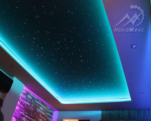 подсветка со звёздами