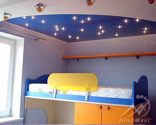 Эскиз детской комнаты с фотопечатью