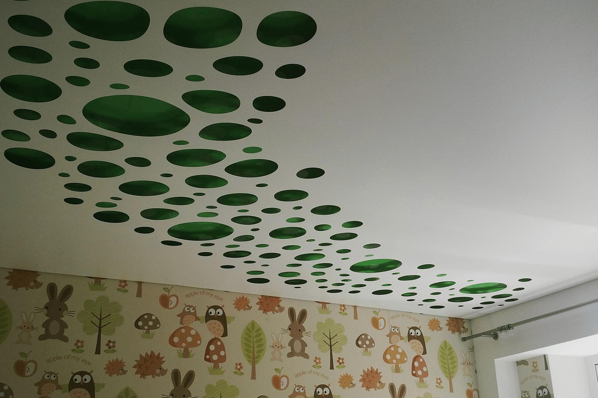 Перфорированный потолок в детской
