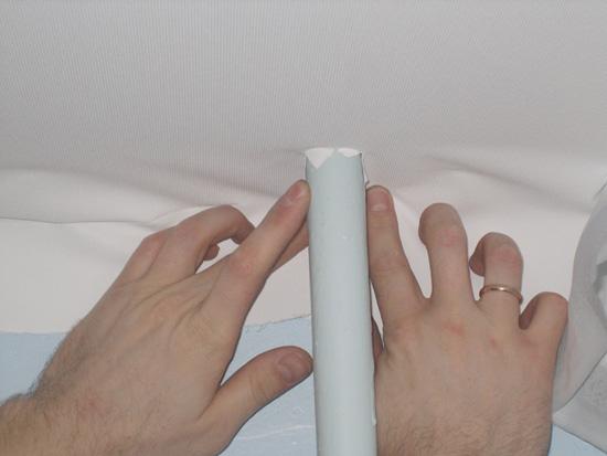 Убираем лишнюю ткань