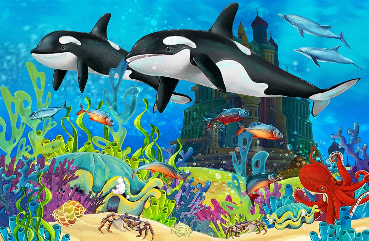 Дельфины 133829348