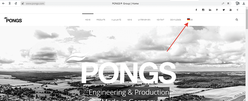 Главная pongs.com