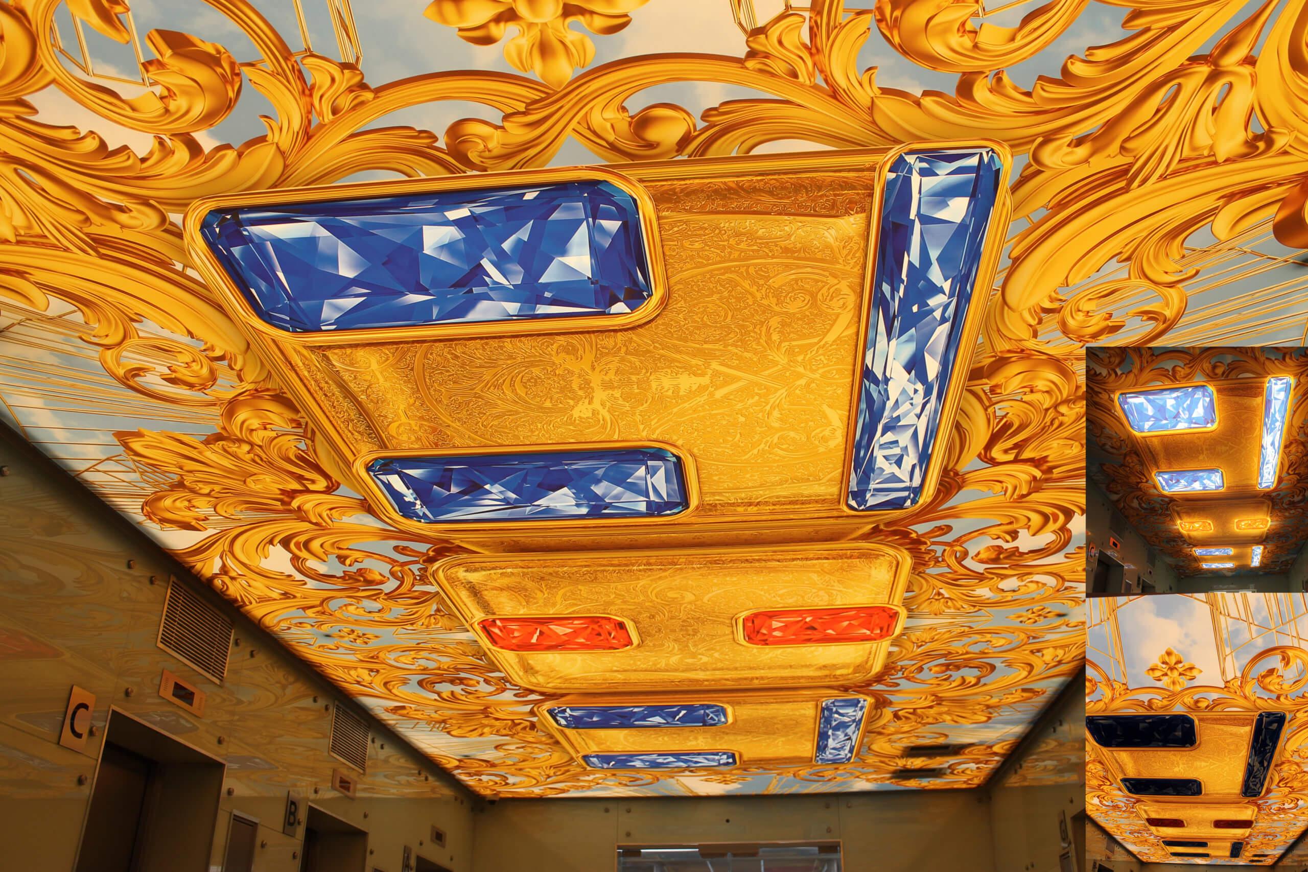 Светопрозрачный потолок ТНТ