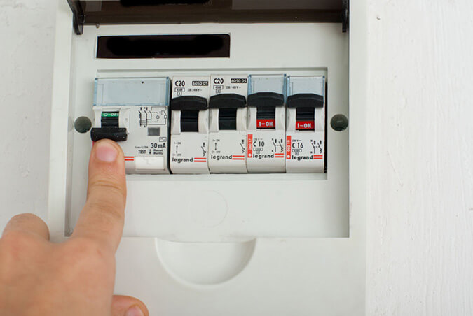 Выключаем электричество