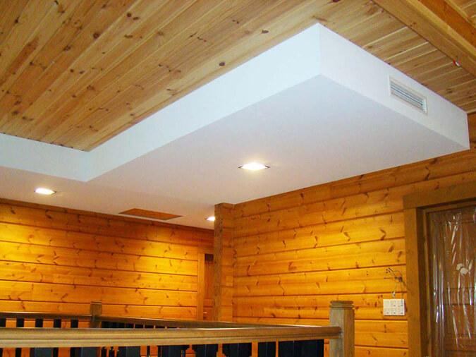 Тканевые натяжные потолки в доме