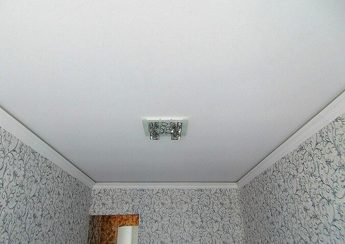 Антибактериальный натяжной потолок от компании Pongs