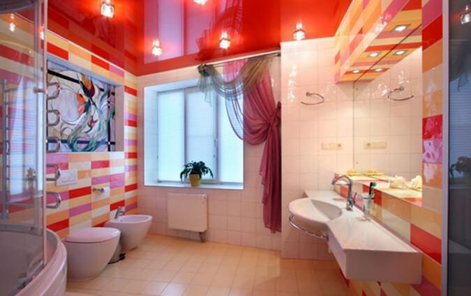 Ванная комнате в доме варианты освещения