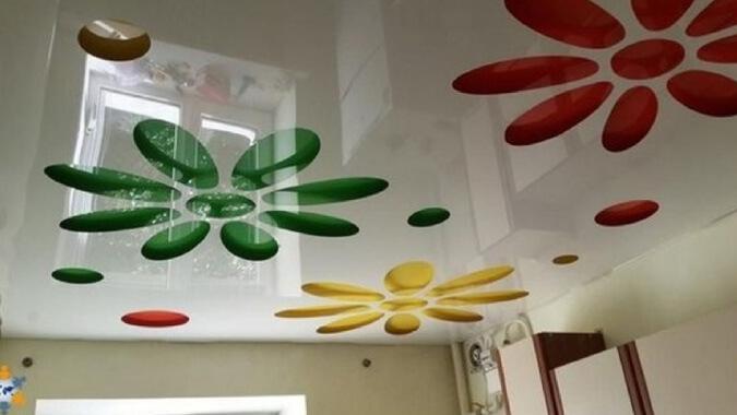 Перфарированные потолки 3D