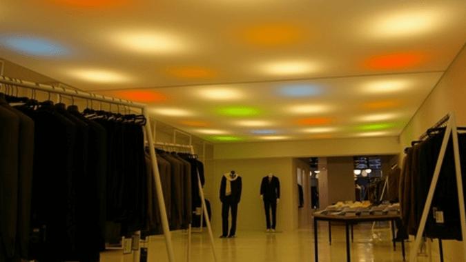 Светодиодные круги в магазине