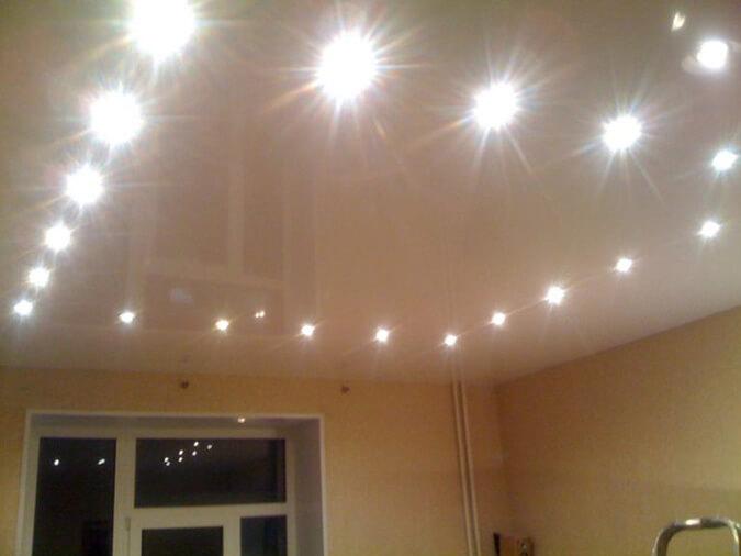 Точечные светильники без лампы