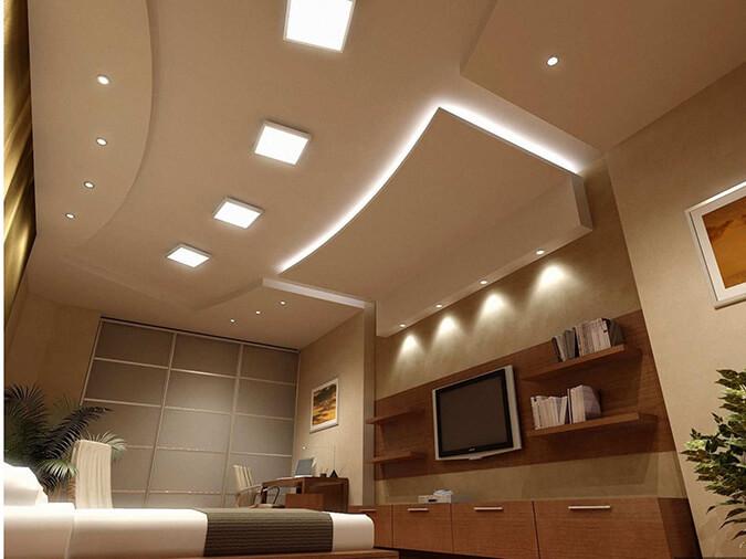Потолок из гипсокартона